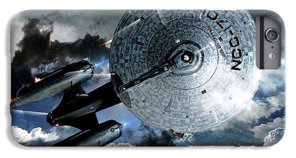 Johnny Carson iPhone 6s Plus Case - Star Trek Into Darkness, Original Mixed Media by Thomas Pollart