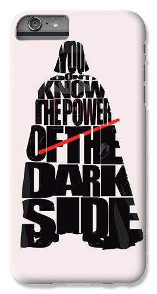 Star iPhone 6s Plus Case - Star Wars Inspired Darth Vader Artwork by Inspirowl Design