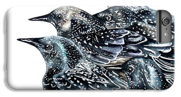 Starlings IPhone 6s Plus Case by Marie Burke