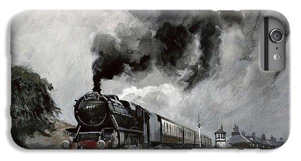 Steam Train At Garsdale - Cumbria IPhone 6s Plus Case