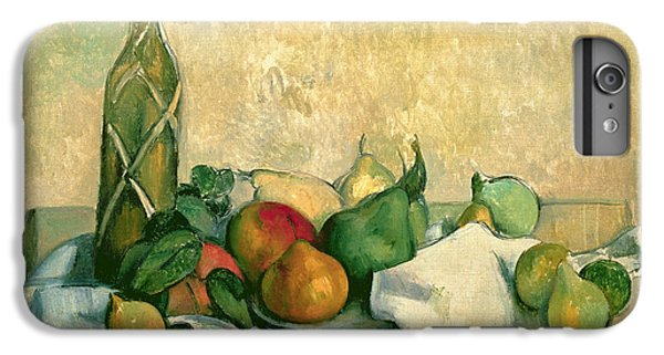 Still Life With Bottle Of Liqueur IPhone 6s Plus Case by Paul Cezanne