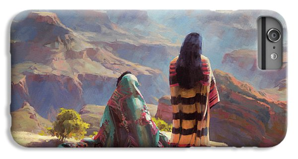 Grand Canyon iPhone 6s Plus Case - Stillness by Steve Henderson