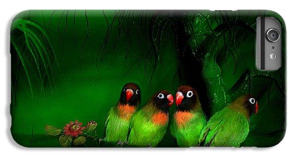Strange Love IPhone 6s Plus Case by Carol Cavalaris
