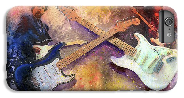 Eric Clapton iPhone 6s Plus Case - Strat Brothers by Andrew King