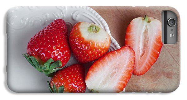 Strawberries From Above IPhone 6s Plus Case by Tom Mc Nemar