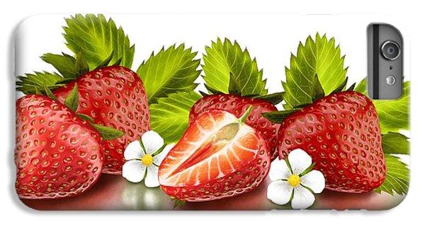 Strawberries IPhone 6s Plus Case