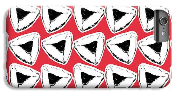 Strawberry iPhone 6s Plus Case - Strawberry Hamentashen- Art By Linda Woods by Linda Woods
