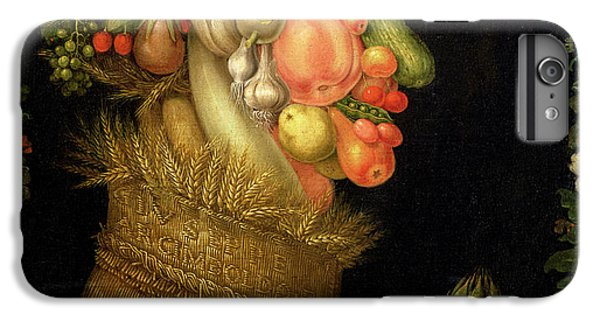 Summer IPhone 6s Plus Case by Giuseppe Arcimboldo