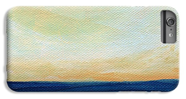 Ocean Sunset iPhone 6s Plus Case - Sun Swept Coast- Abstract Seascape by Linda Woods