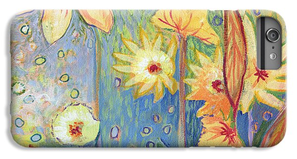 Sunflower iPhone 6s Plus Case - Sunflower Tropics Part 3 by Jennifer Lommers