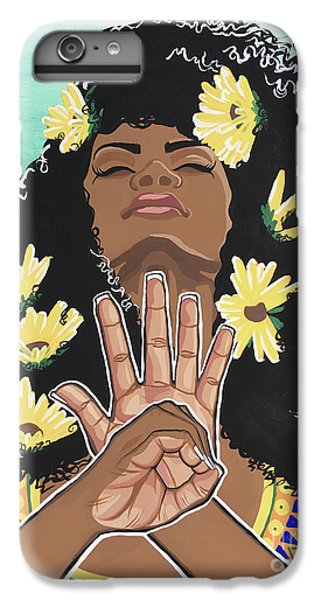 Sunflowers And Dashiki IPhone 6s Plus Case