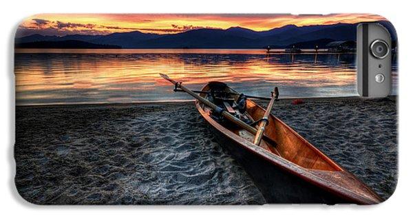 Boats iPhone 6s Plus Case - Sunrise Boat by Matt Hanson