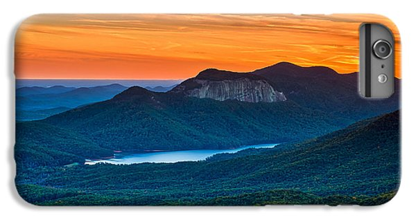 Clemson iPhone 6s Plus Case - Sunset Over Table Rock From Caesars Head State Park South Carolina by T Lowry Wilson