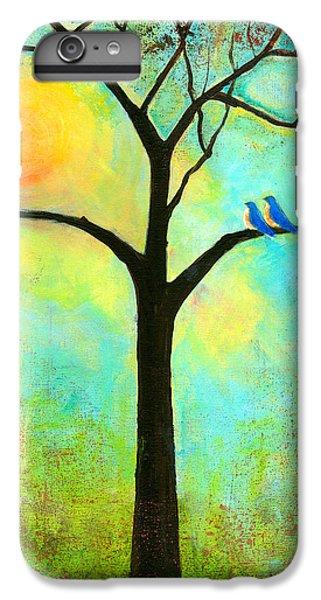 Bluebird iPhone 6s Plus Case - Sunshine Tree by Blenda Studio