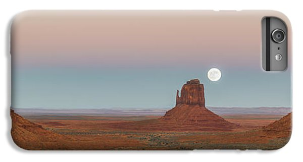 Desert Sunset iPhone 6s Plus Case - Super Moon In Monument Valley by Jon Glaser