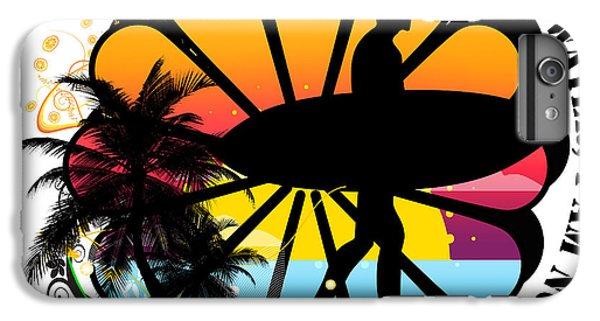 Venice Beach iPhone 6s Plus Case - Surf by Mark Ashkenazi