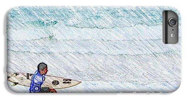 Surfer In Aus IPhone 6s Plus Case by Daisuke Kondo
