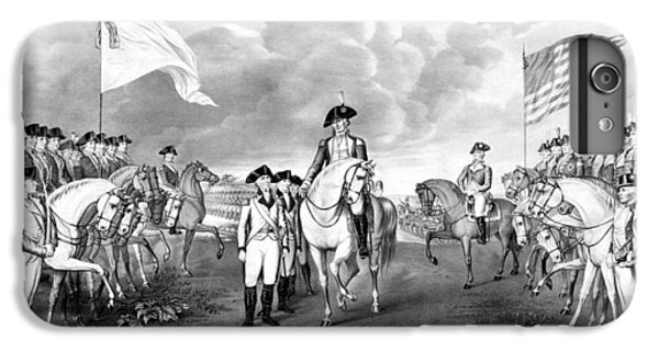 George Washington iPhone 6s Plus Case - Surrender Of Lord Cornwallis At Yorktown by War Is Hell Store