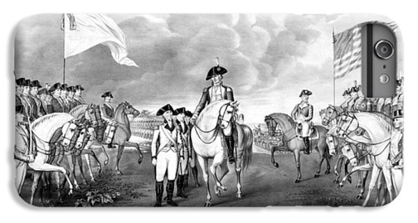 Surrender Of Lord Cornwallis At Yorktown IPhone 6s Plus Case by War Is Hell Store