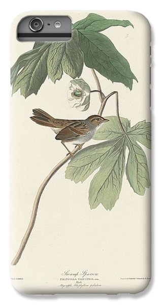 Swamp Sparrow IPhone 6s Plus Case by Dreyer Wildlife Print Collections