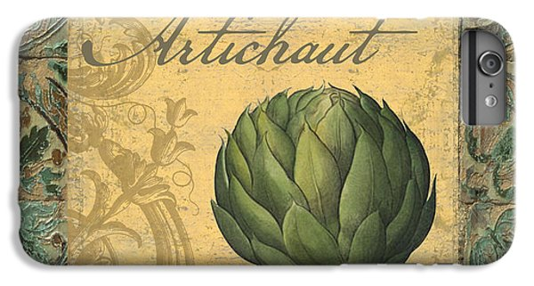 Tavolo, Italian Table, Artichoke IPhone 6s Plus Case by Mindy Sommers