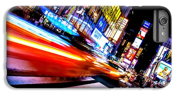 Times Square iPhone 6s Plus Case - Taxis In Times Square by Az Jackson
