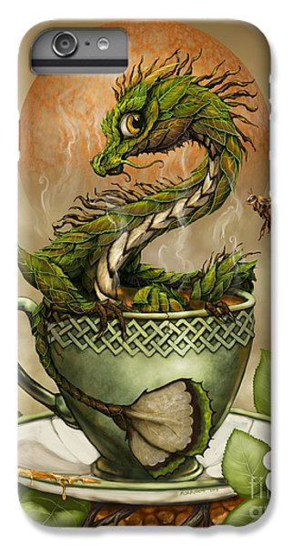 Dragon iPhone 6s Plus Case - Tea Dragon by Stanley Morrison