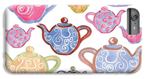 Hot iPhone 6s Plus Case - Tea For Two by Sarah Hough