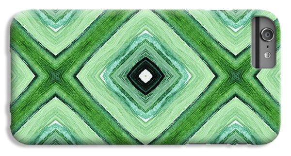 Tea Garden- Art By Linda Woods IPhone 6s Plus Case by Linda Woods