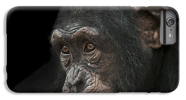 Chimpanzee iPhone 6s Plus Case - Tedium by Paul Neville