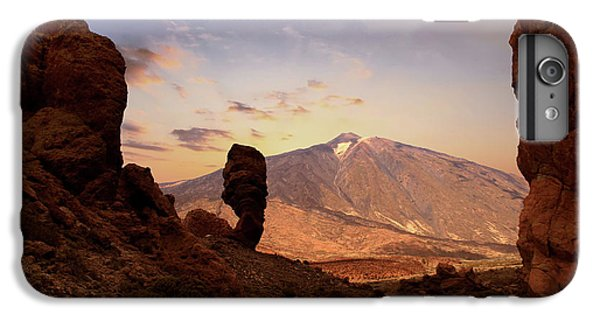 Canary iPhone 6s Plus Case - Teide - Tenerife by Cambion Art