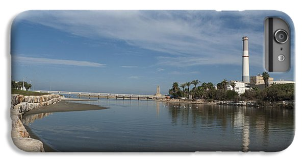 IPhone 6s Plus Case featuring the photograph Tel Aviv Old Port 1 by Dubi Roman