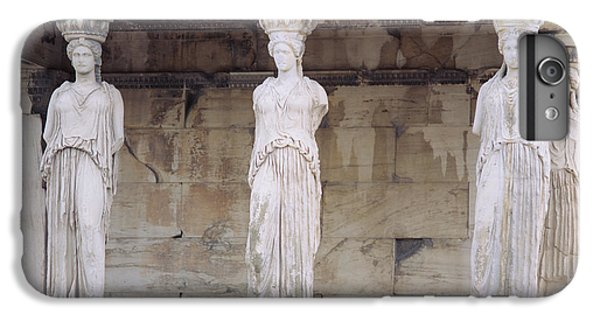 Greece iPhone 6s Plus Case - Temple Of Athena Nike Erectheum by Panoramic Images