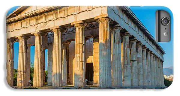 Greece iPhone 6s Plus Case - Temple Of Hephaestus by Inge Johnsson