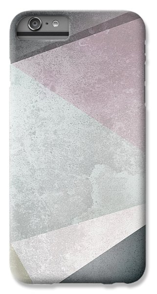Textured Geometric Triangles IPhone 6s Plus Case by Pati Photography