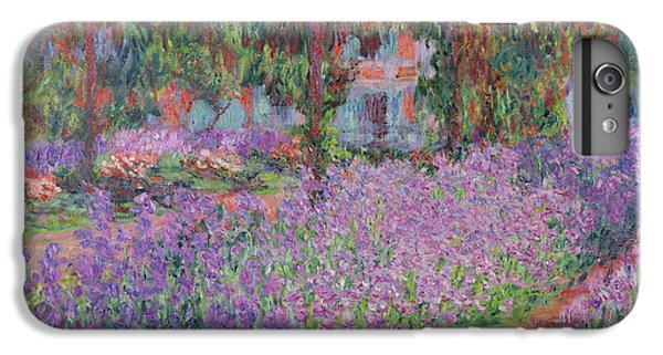 Impressionism iPhone 6s Plus Case - The Artists Garden At Giverny by Claude Monet
