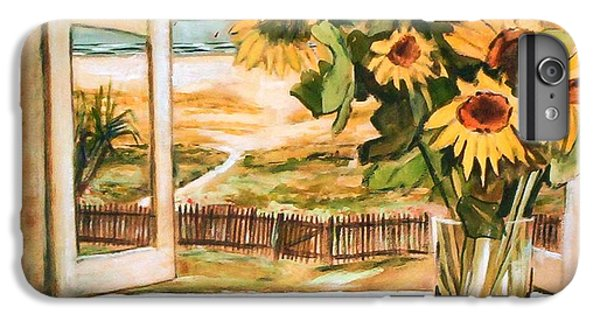 The Beach Sunflowers IPhone 6s Plus Case by Winsome Gunning