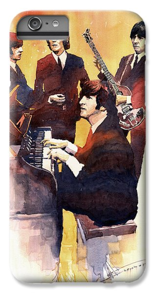 Musicians iPhone 6s Plus Case - The Beatles 01 by Yuriy Shevchuk