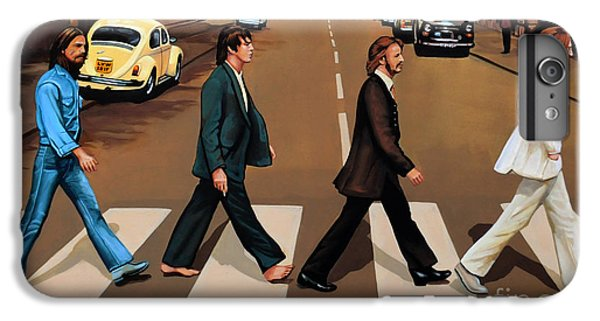 The Beatles Abbey Road IPhone 6s Plus Case by Paul Meijering
