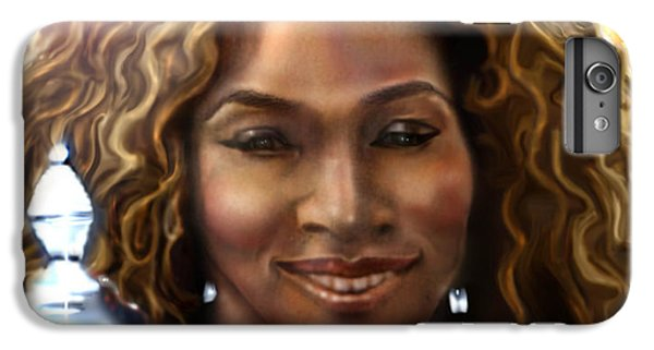 Serena Williams iPhone 6s Plus Case - The Beauty Victory That Is Serena by Reggie Duffie