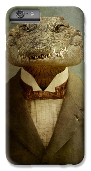 Reptiles iPhone 6s Plus Case - The Boss by Martine Roch