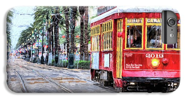 IPhone 6s Plus Case featuring the photograph The Canal Street Streetcar by JC Findley