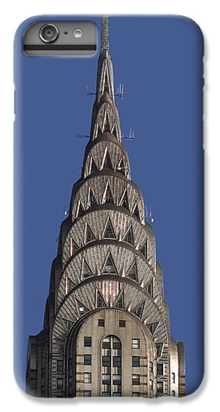The Chrysler Building - Deco Detail IPhone 6s Plus Case by Rona Black