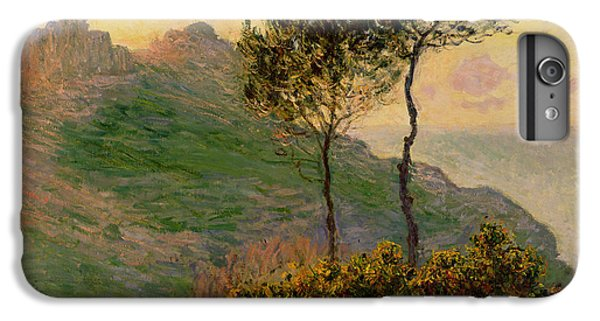 The Church At Varengeville Against The Sunlight IPhone 6s Plus Case by Claude Monet