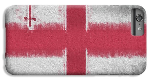 IPhone 6s Plus Case featuring the digital art The City Flag Of London by JC Findley