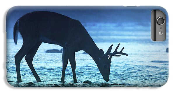 Deer iPhone 6s Plus Case - The Cool Of The Night - Square by Rob Blair