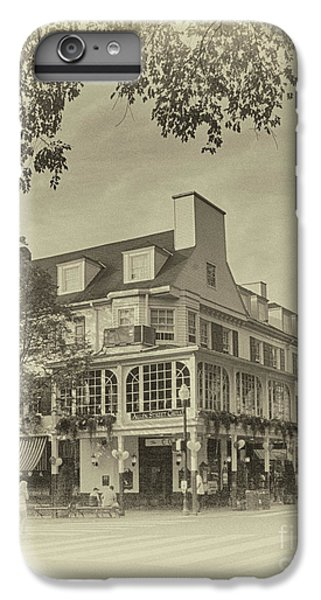 Penn State University iPhone 6s Plus Case - The Corner Room In Sepia by Tom Gari Gallery-Three-Photography