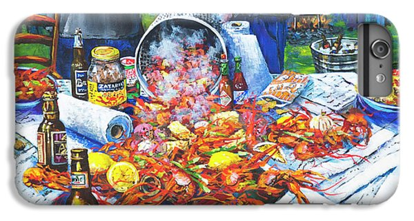Food And Beverage iPhone 6s Plus Case - The Crawfish Boil by Dianne Parks