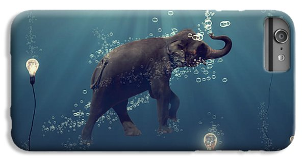 Animals iPhone 6s Plus Case - The Dreamer by Martine Roch