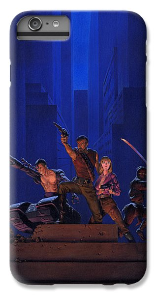 Knight iPhone 6s Plus Case - The Eliminators by Richard Hescox